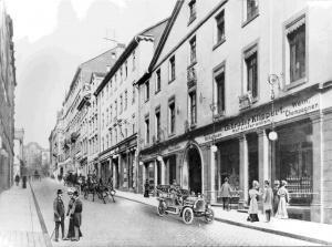 Die Wilhelmsstraße zu Beginn des 20. Jahrhunderts