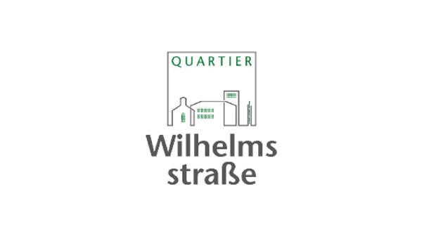 Neues Logo für das Quartier Wilhelmsstraße