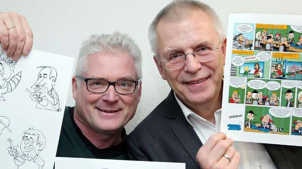Vietor präsentiert den ersten Kassel-Comic
