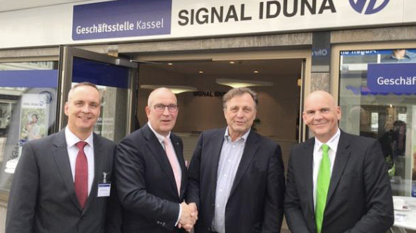 Feierliche Eröffnung der Signal-Iduna Geschäftsstelle Kassel im Quartier Wilehlmsstraße
