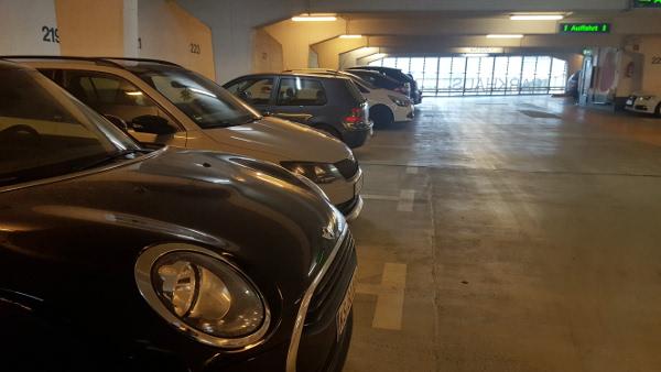 Parkgutschein Wilhelmsstrasse