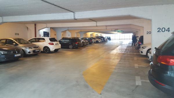 Vergünstigtes Parken für Quartier-Besucher