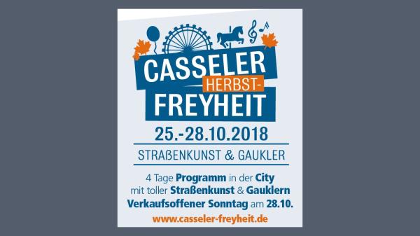 Quartier lädt zur Casseler Herbst-Freyheit