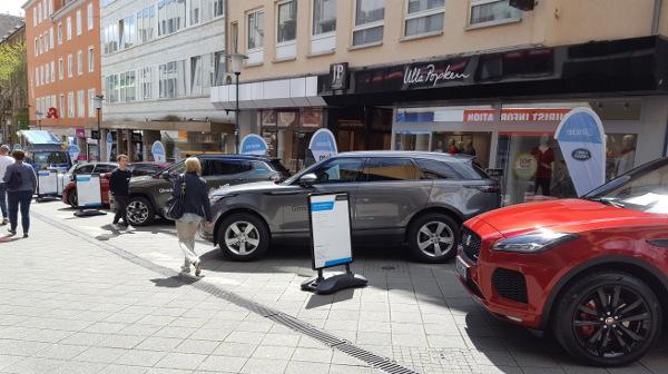 Automobilausstellung der Casseler Frühlings-Freyheit