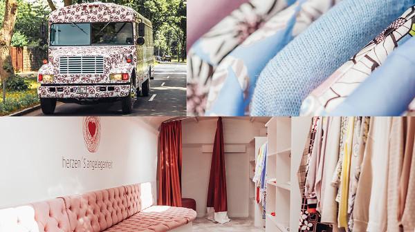 Außergewöhnliches Shopping im Fashion-Bus