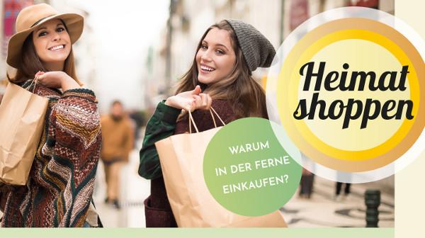 """""""Heimat shoppen"""": Bekenntnis zum lokalen Handel"""