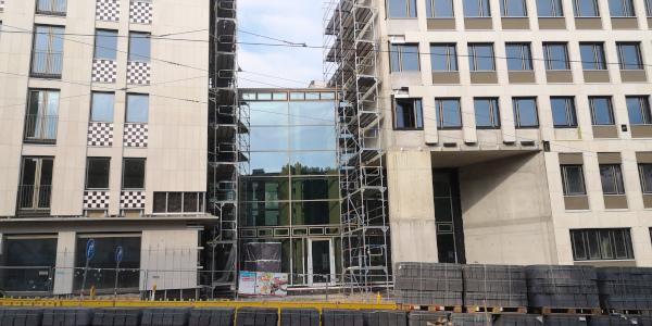 Evangelische Bank Umbau