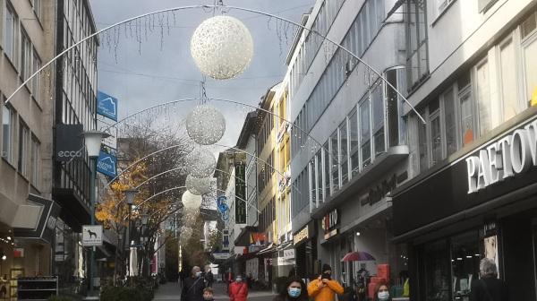 Weihnachtsbeleuchtung Wilhelmsstrasse