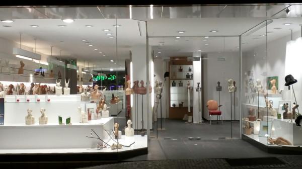 Galerie contemporär im einstigen Schuhgeschäft