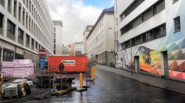 Bank-Umbau: Seidlerstraße bald wieder geöffnet