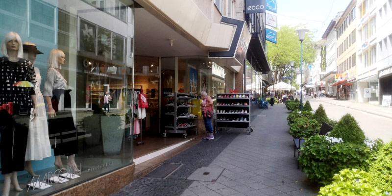 Einzelhandel Wilhelmsstrasse
