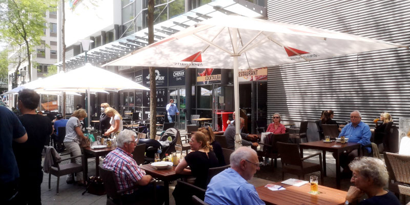 Gastronomie Quartier Wilhelmsstrasse