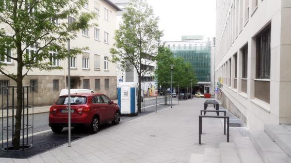 Seidlerstraße: Wieder freie Durchfahrt zum Parkhaus